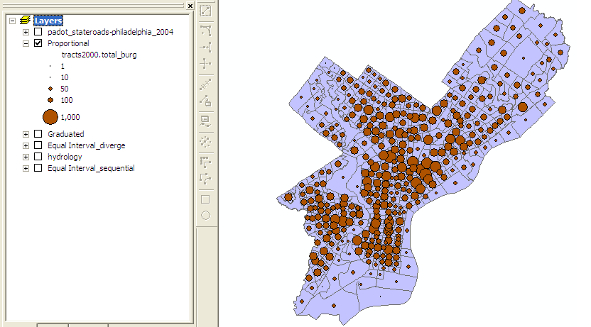 Features Map Type and GIS